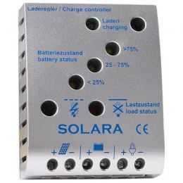 Regulator SR345TL 12/24V, 20A, 350Wp, LVD, LED